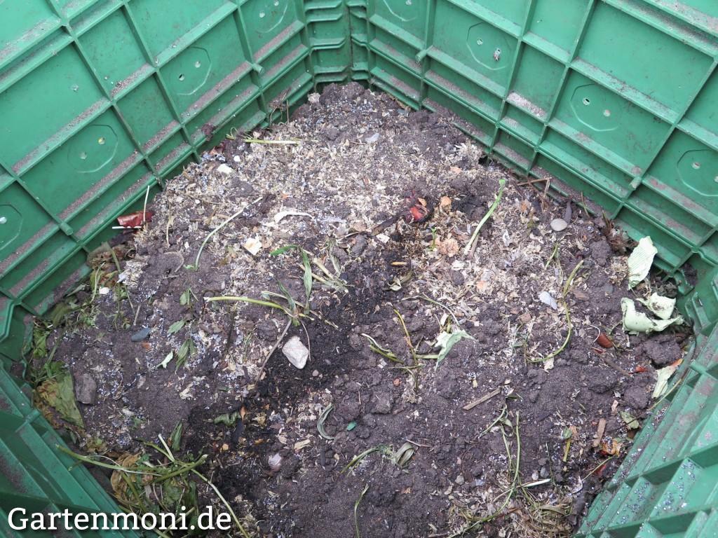 Fertige Komposterde